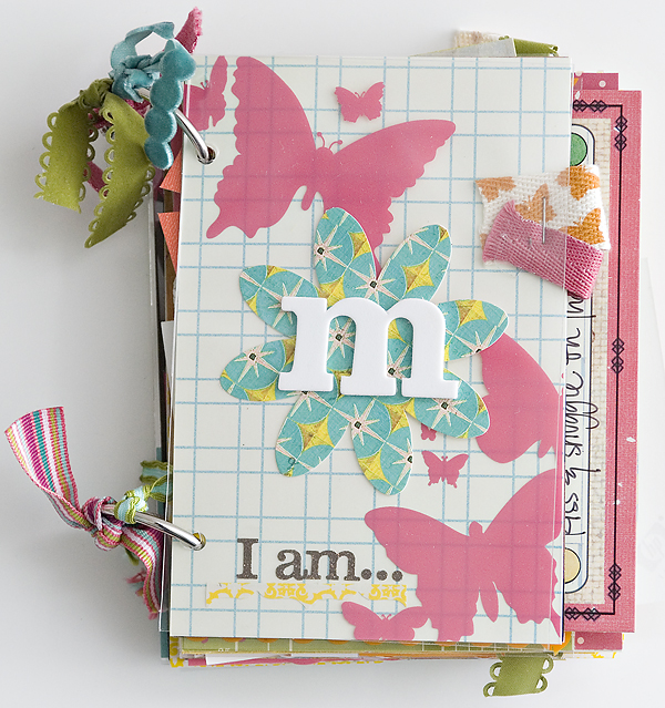 Reflections scrapbooking event recap maggie holmes design - Como hacer un album scrapbook ...