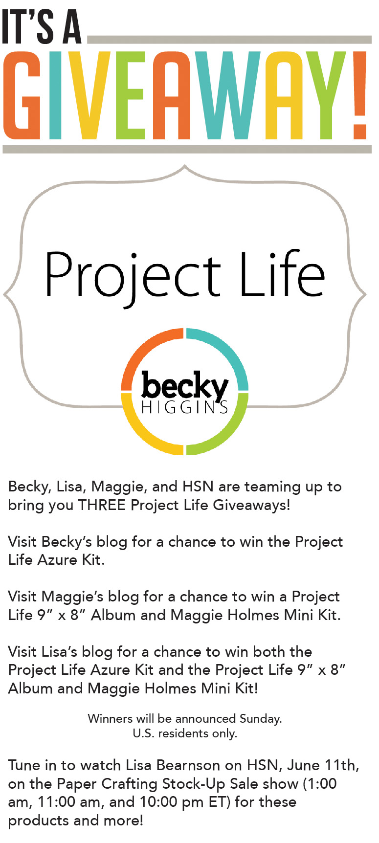 Project Life Giveaway » Maggie Holmes Design