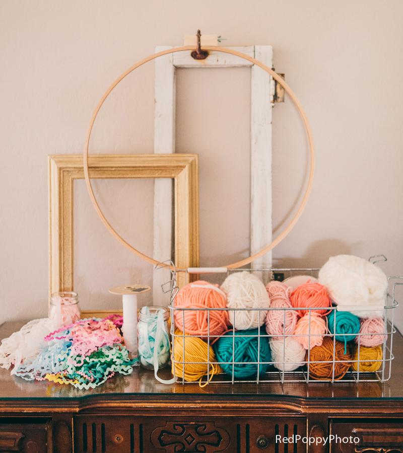 yarn table