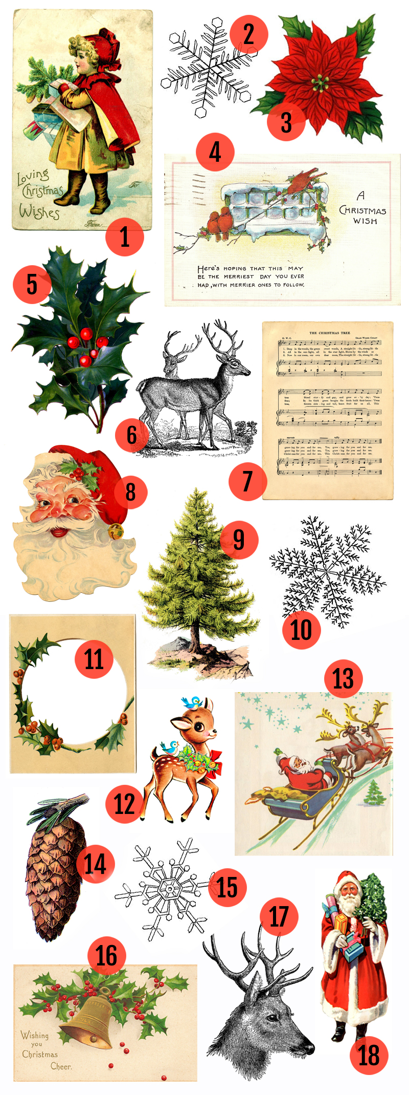 It's just a picture of Intrepid Free Printable Christmas Images