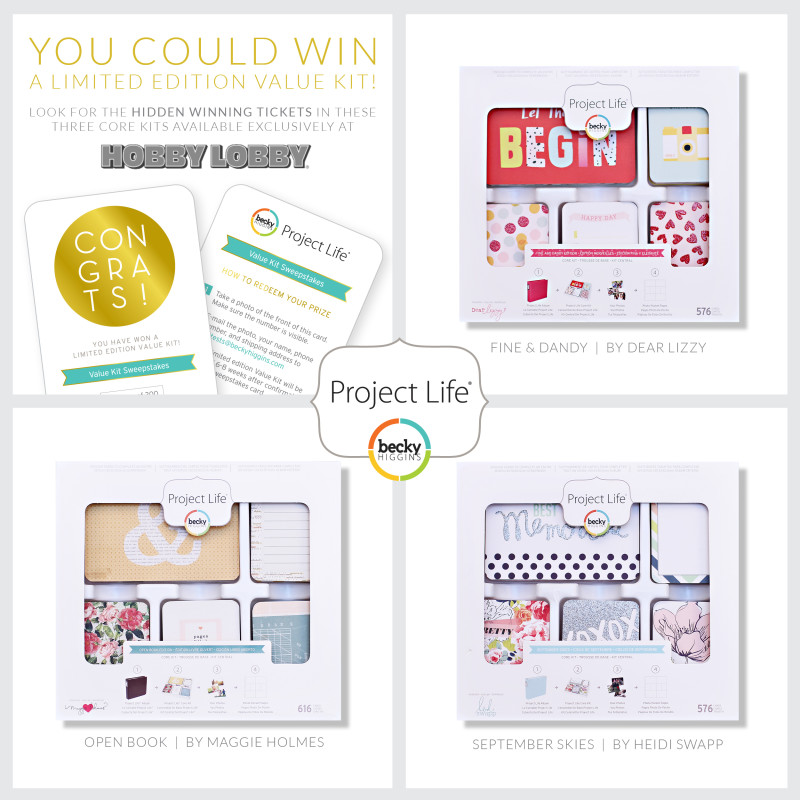 Open Book Project Life Core Kit » Maggie Holmes Design