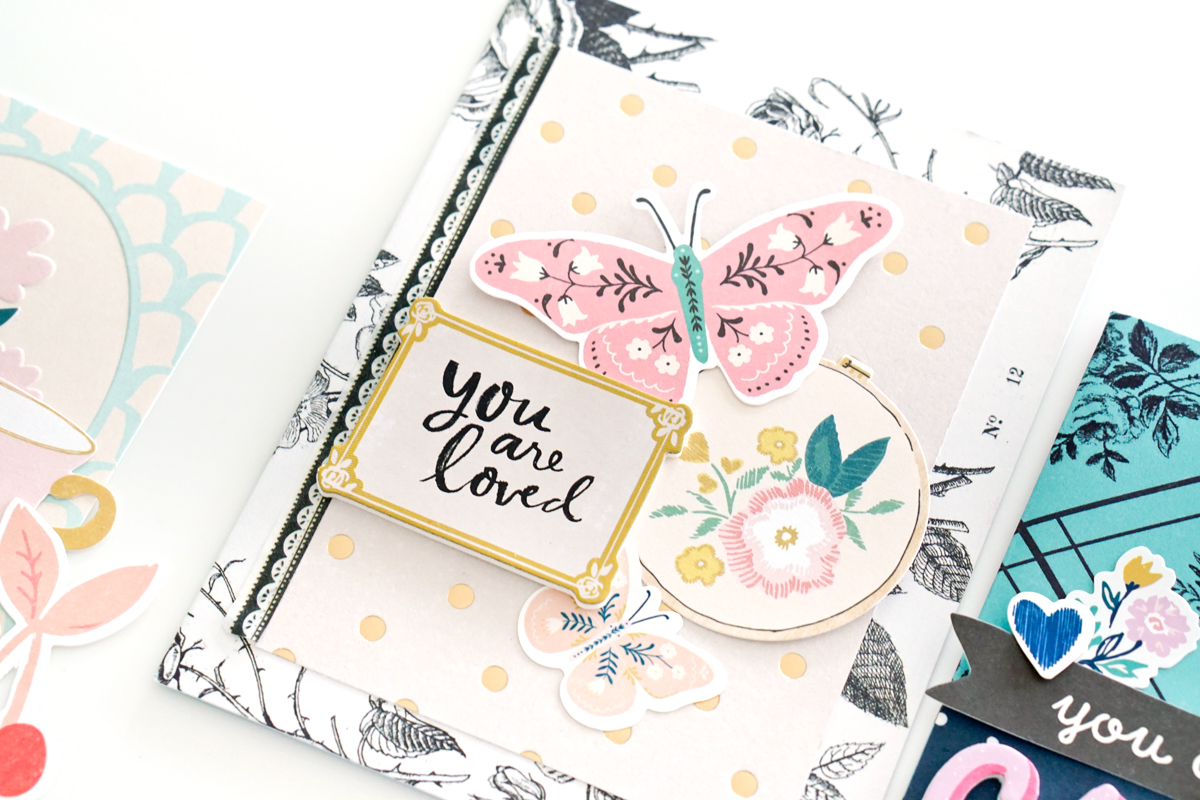 cute  easy cards to make » maggie holmes design