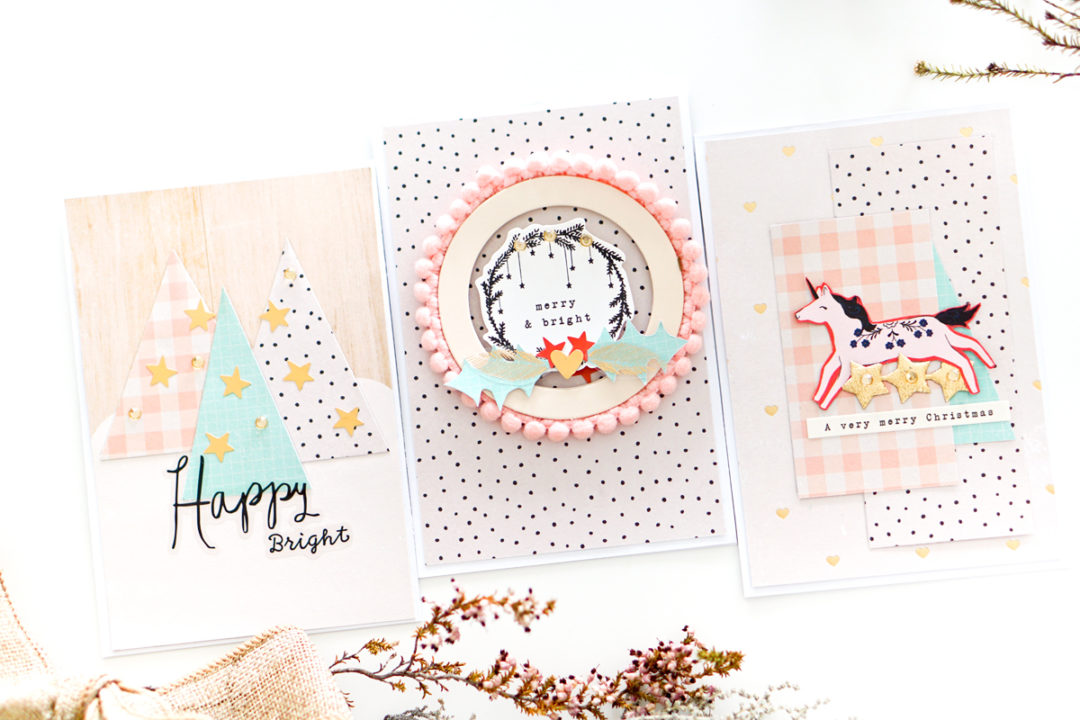 Beautiful Handmade Cards for Christmas – Maggie Holmes Design