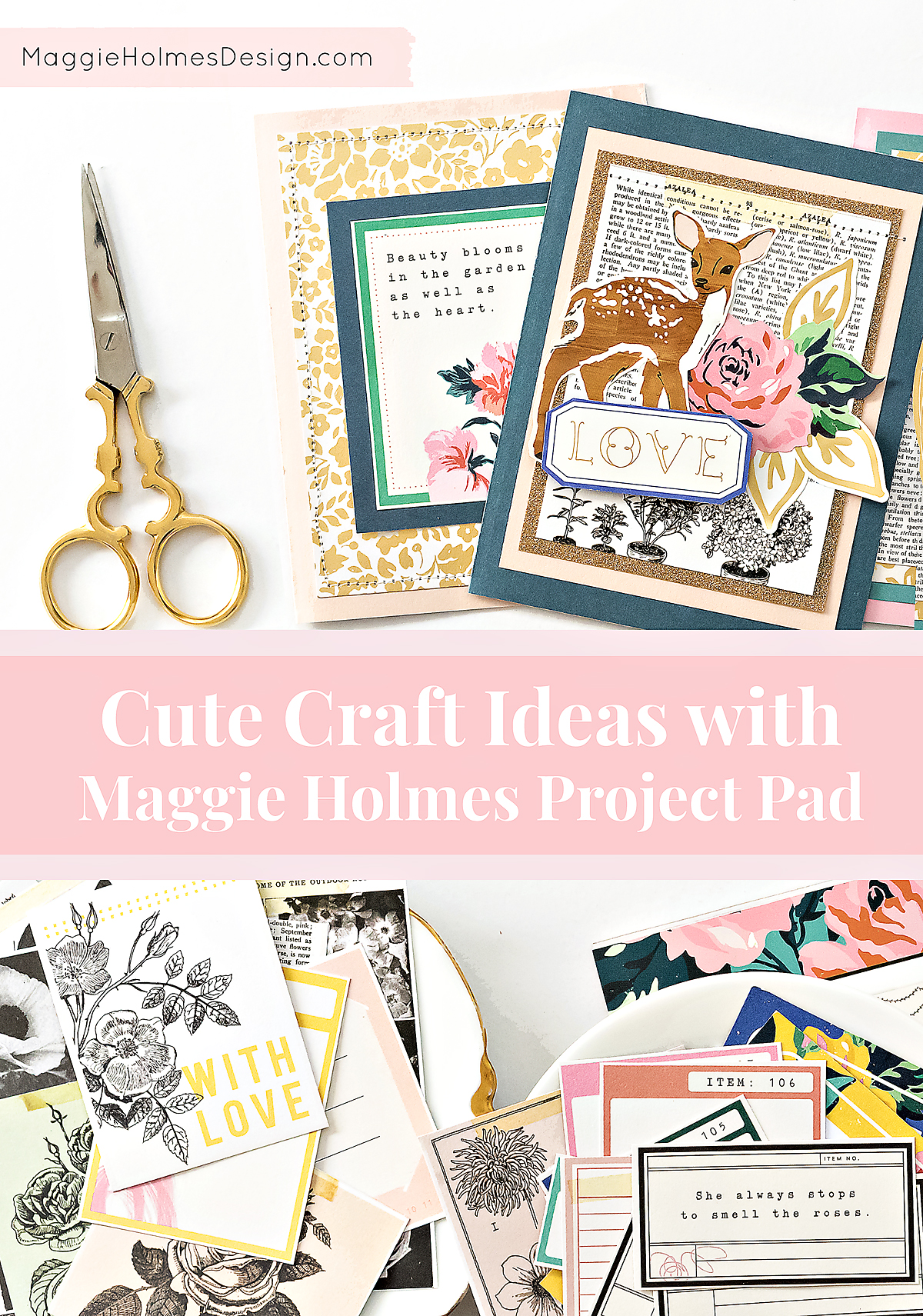 Maggie Holmes Flourish Project Pad Maggie Holmes Design