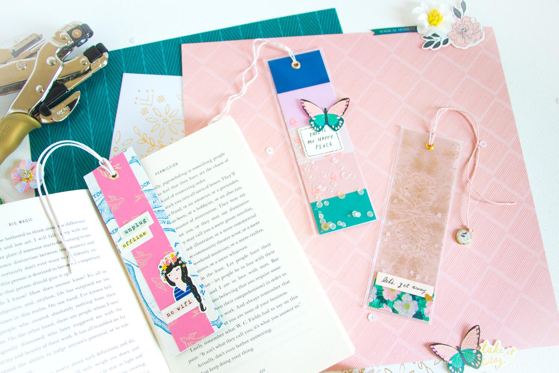 Cute DIY Bookmarks and Fun Craft Ideas » Maggie Holmes Design
