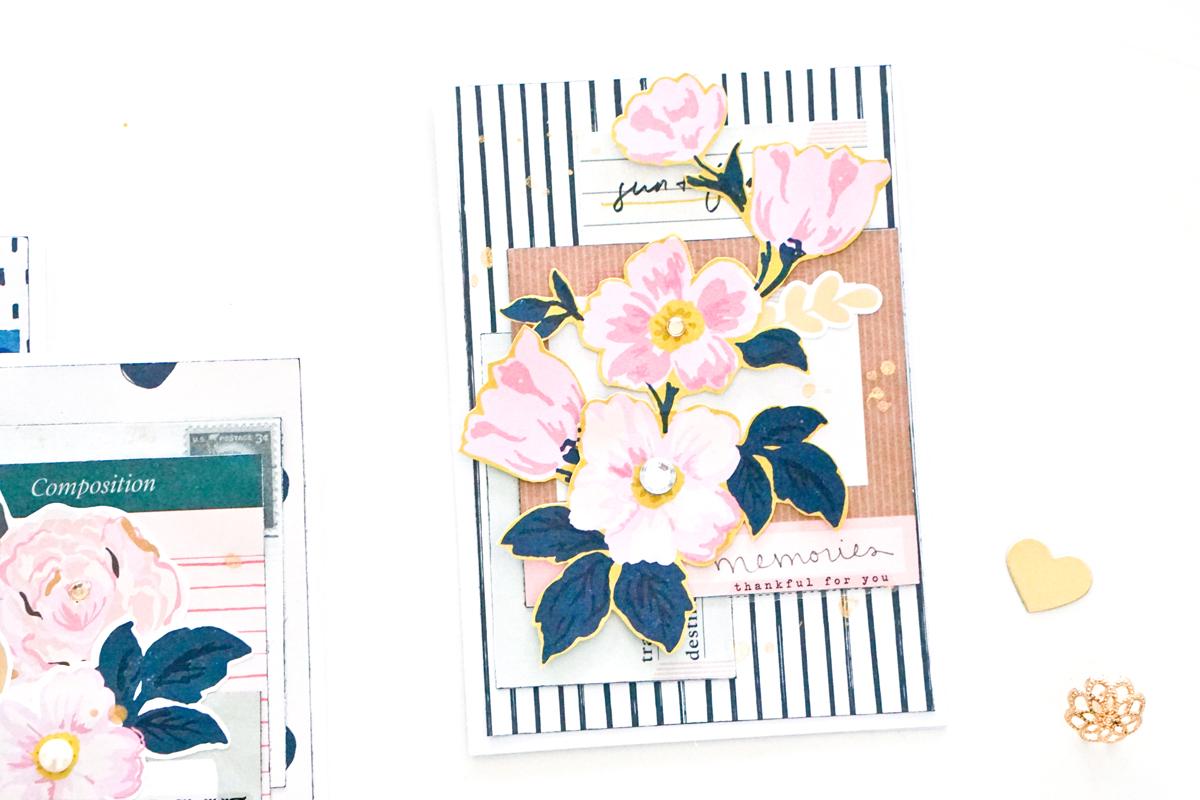 Peachy Pretty Floral Handmade Card Ideas Maggie Holmes Design Funny Birthday Cards Online Alyptdamsfinfo