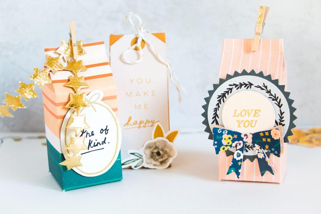 Cute Diy Gift Boxes Easy Diy Gift Wrap Ideas Maggie Holmes Design