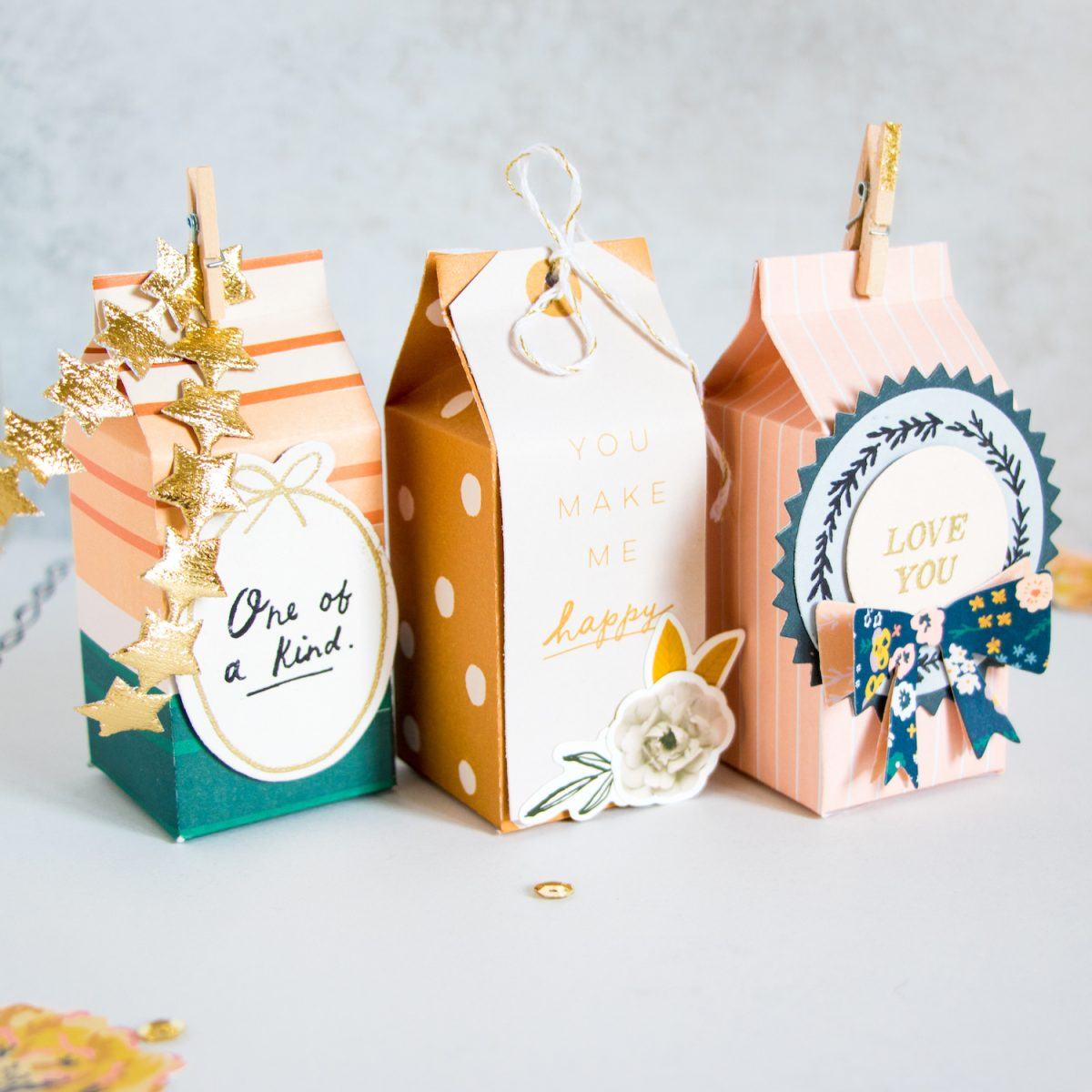 Cute DIY Gift Boxes & Easy DIY Gift Wrap Ideas » Maggie